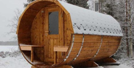 Pic Baltresto Barrel Sauna
