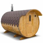 photo 3 3m for 6 persons outdoor sauna