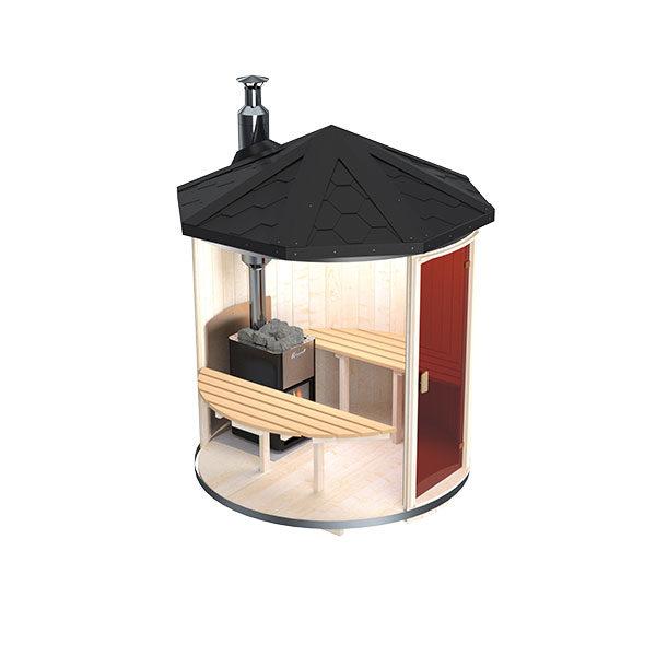 vertical sauna
