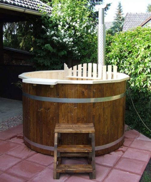 Pic Outdoor hot tub hot tub for garden