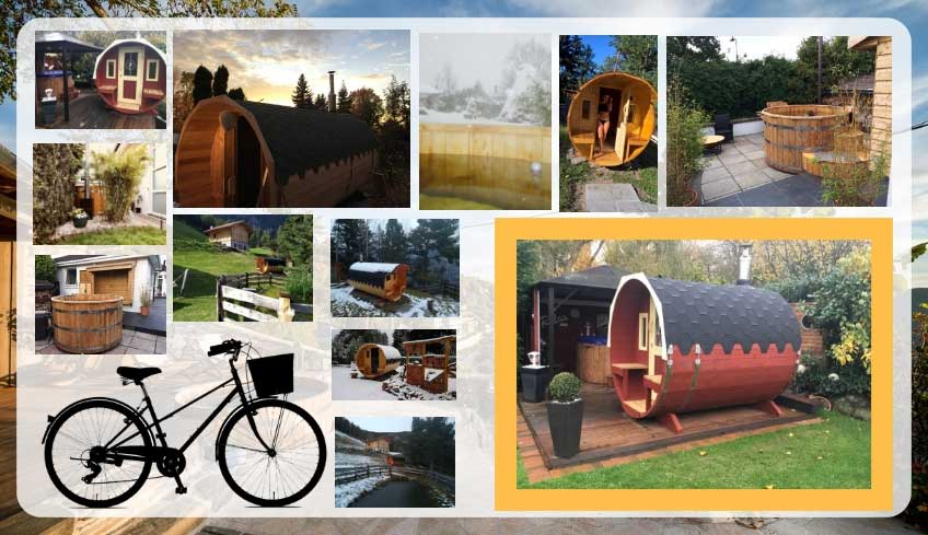 pic photo contest with Baltresto portable saunas and wooden hot tubs