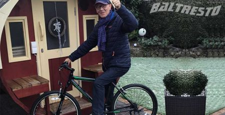Pic Customer who bought Hot-tub-or-sauna-and-won-a-bike