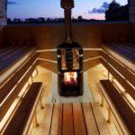 led-light for sauna (steam-room)